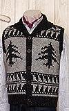 Tree pattern men's cowling vest