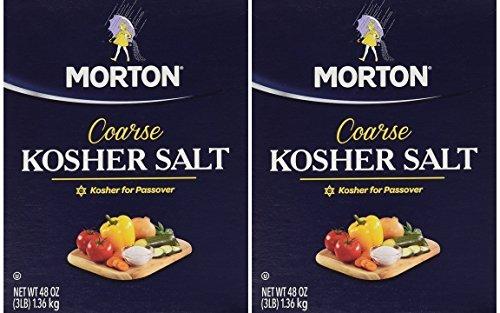 Morton Salt Kosher Salt, 3 lbs, Pack of 2 (Salt Kosher)