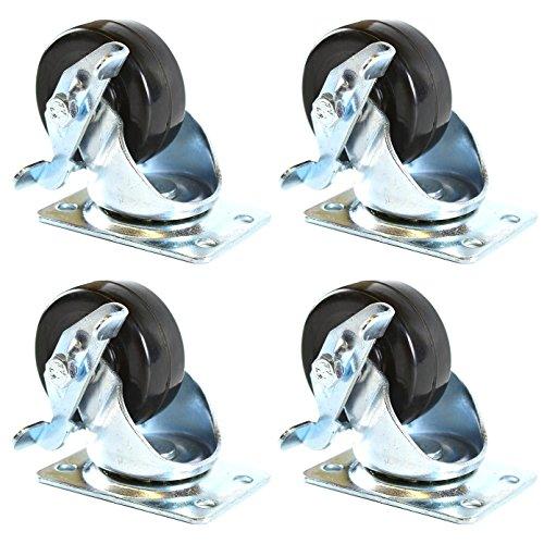 low profile caster wheels - 9