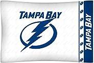 NHL Tampa Bay Lightning Pillowcase Locker Room Bed Accessory