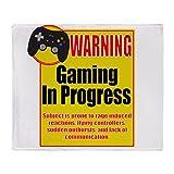 CafePress - Gaming In Progress - Soft Fleece Throw Blanket, 50''x60'' Stadium Blanket