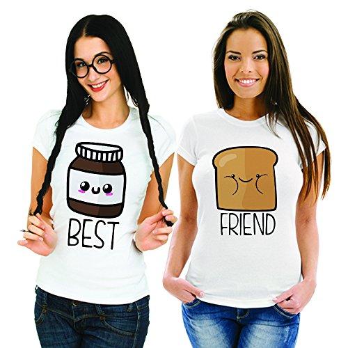 Babloo - Camiseta - para mujer Bianche