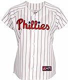 Philadelphia Phillies MLB Women's Majestic Replica Home White Jersey Plus Sizes