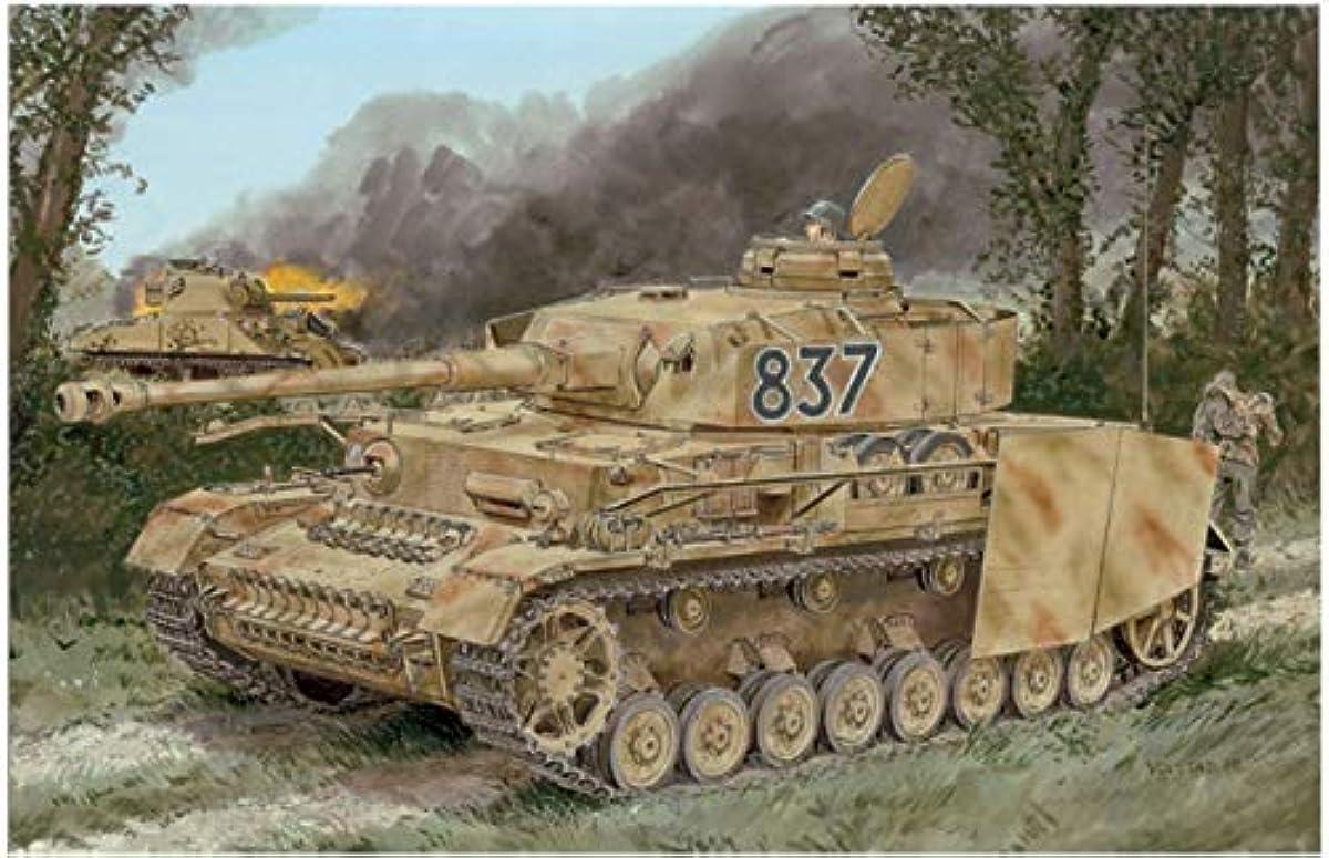 [해외] 드래곤 1/35 제2차 세계 대전 독일군 IV호 전차H형 후기 생산형 즈메릿토코틴구선택식 키트 프라모델  DR6933