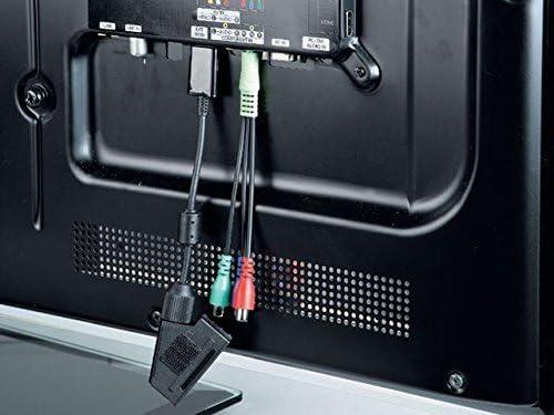 Scart-Kupplung - Samsung-Stecker schwarz Hama Scart-Adapter f/ür Samsung TV