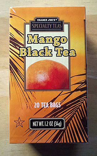 - Trader Joes Mango Black Tea (3-pack)