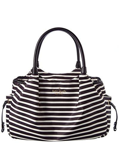 Kate Spade New York Women's Watson Lane Stevie Baby Bag Black/Clotted Cream One Size by Kate Spade New York