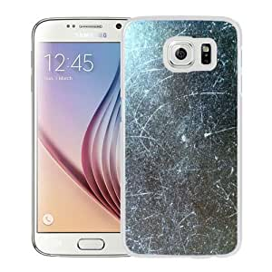 2015 Gorgeous Custom Design with Dull & Scratched White For Samsung Galaxy S6 SM-G920A SM-G920P SM-G920R4 SM-G920T SM-G920V Cover Case