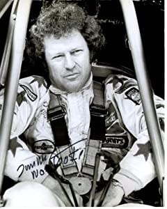TOM MCEWEN signed autographed NHRA photo