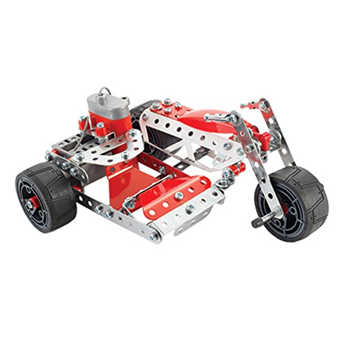 Meccano-Erector – Multimodel – 20 Model Motorized Set, 270 Parts