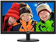 "Monitor Philips 18.5"" LED HDMI 193V5"