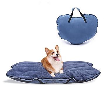 Weng wei shop Perrera de Perro Grande Alfombrilla de Mascota extraíble y Lavable Cama Plegable para Perros al Aire Libre Corkey Teddy Golden Retriever ...