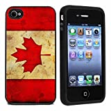 IP4 Rugged Canada Canadian Flag iPhone 4 or 4s Case / Cover