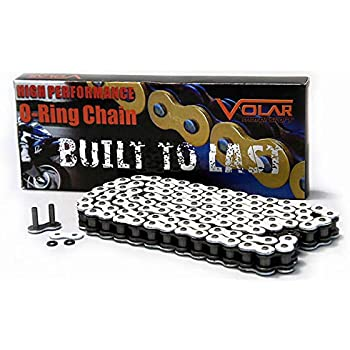CZ Chains Chains Motorcycle & Powersports CZ530150BLK Black 530-Pitch 150-Link SDZ X-Ring Chain