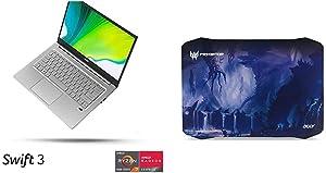 "Acer Swift 3 Thin & Light Laptop, 14"" Full HD IPS, AMD Ryzen 7 4700U Octa-Core Mobile Processor with Radeon Graphics with Predator Mousepad"