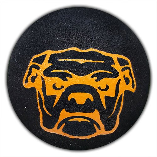 Car Antenna Ball Quantity 3 pcs pack Coolballs Fun Bulldog Mascot Car Antenna Topper