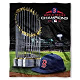 Northwest Boston Red Sox MLB 2018 World Series Champions Silk Touch Super Soft Blanket (50in x 60in)