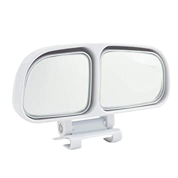 fgyhtyjuu Retrovisores de Coches de Zona ciega, Espejo del Punto de Gran Angular de Doble Cristal Lateral de Marcha atrás Espejo de ala Accesorios del ...