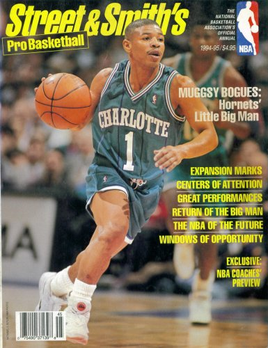 1994 Nba Draft (Street & Smith's 1994-95 NBA Pro Basketball Annual Preview (Charlotte Hornets' Muggsy Bogues Cover))
