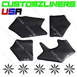 CUSTOMZLINERS USA Apron for 2007-2019 Toyota Tundra Fender Liner Seal Splash Shield Guard Flap