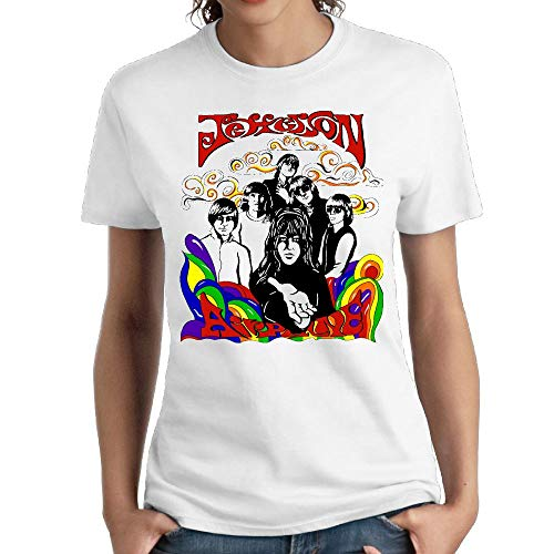 JeffryG Women's Jefferson Airplane Short Sleeve T Shirt for sale  Delivered anywhere in USA