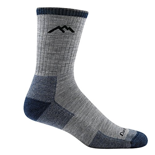 Spot Comfort Full Support (Darn Tough Hiker Micro Crew Cushion Socks - Men's Light Gray Medium)