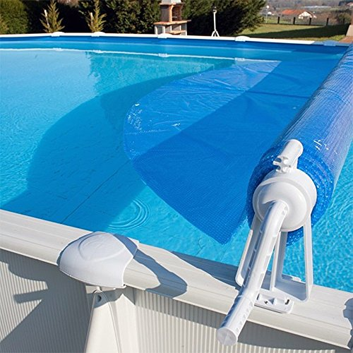 International Cover Pool Enrollador de Manta Solar para Piscina Desmontable Telescópico MAX 6, 50 Metros: Amazon.es: Jardín