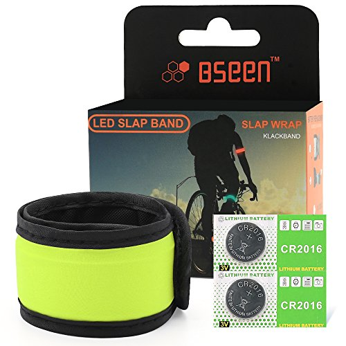 LED Safety Slap Armband