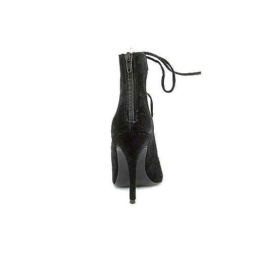 8e3dbb2d1f851 Modern Vice Ghillie Womens Lasercut Lace Up Heels Sandals