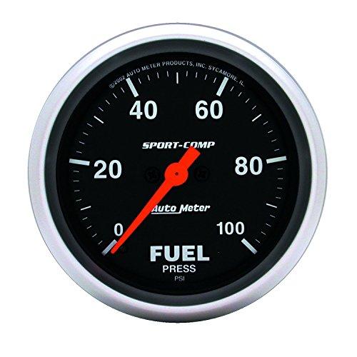 Auto Meter 3563 Sport-Comp Electric Fuel Pressure Gauge