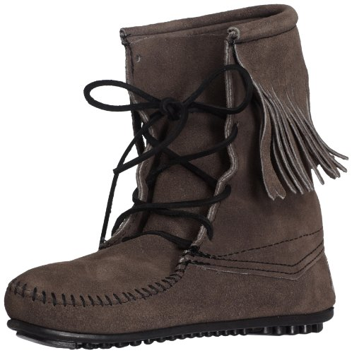 Minnetonka Women's Tramper Ankle Hi Boot,Grey,8 M US Minnetonka Genuine Boots