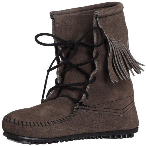 Minnetonka Women's Tramper Ankle Hi Boot,Grey,8 M US