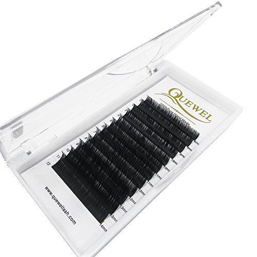 Eyelash Extension Supplies,Thickness 0.03 | 0.05 | 0.07 | 0.10 | 0.15 | 0.20 | Curl C/D Length From 6mm To 18mm| Best Soft Eyelash Extension(0.05 C Curl, 8-14 MIX)
