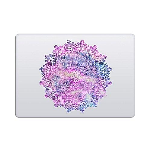 Laptop Stickers Macbook Decal - Removable Vinyl - Mandala Pu