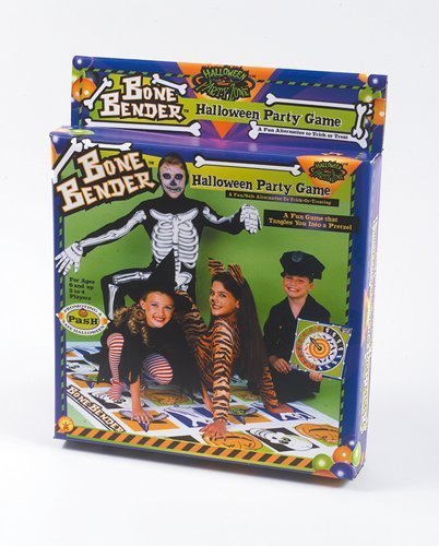 Bone Bender Halloween Party (Halloween Twister Game)