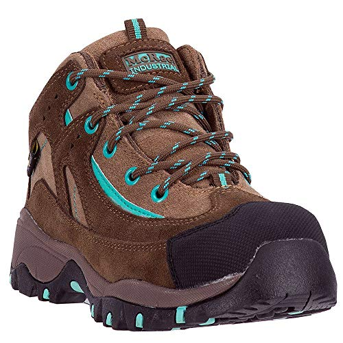 McRae Industrial Women's Poron XRD Met Guard Hiker Boot Composite Toe Brown 8 D(M) US