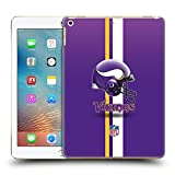 Official NFL Helmet Minnesota Vikings Logo Hard Back Case for iPad 9.7 2017 / iPad 9.7 2018