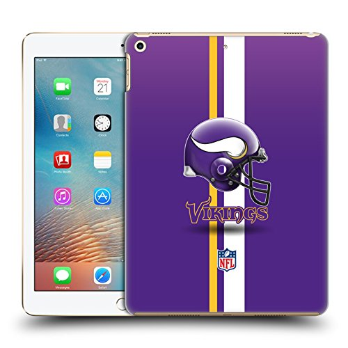 - Official NFL Helmet Minnesota Vikings Logo Hard Back Case for iPad 9.7 2017 / iPad 9.7 2018