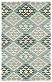 Kaleen Rugs Lakota Collection LKT02-56 Spa 2' x 3' Handmade Rug