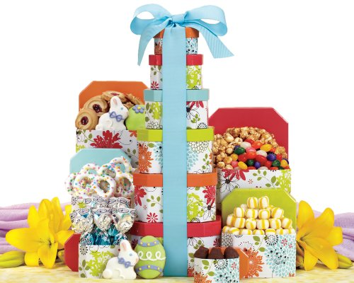 Wine Country Gift Baskets Springtime Easter Tower