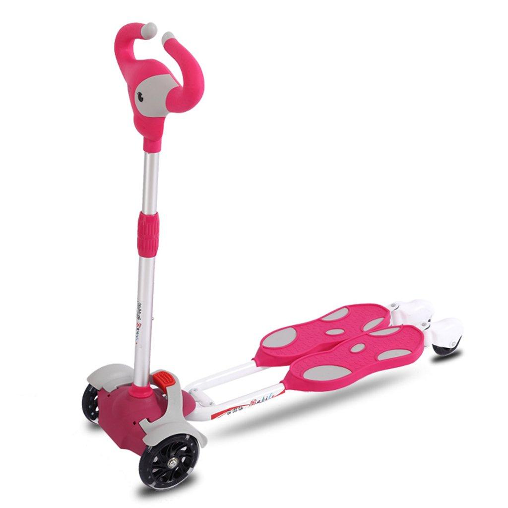 スクーター多機能生徒折りたたみ式リフティングスイングカーヨーヨーおもちゃフラッシュホイール3~15歳(80×56Cm) Pink B07FYKYHHC Pink Pink Pink, CASSETTE PUNCH:b0efe6a2 --- m2cweb.com