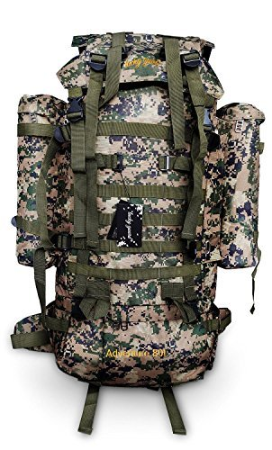 Lucky Gourd 80l Sport Outdoor Military Rucksacks Tactical Backpack