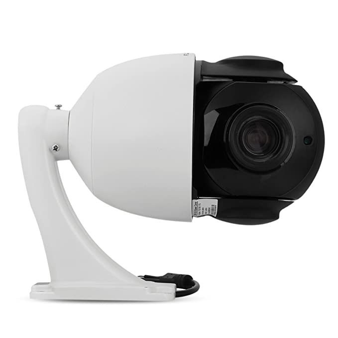 FLOUREON 1080P PTZ Dome IP Camera ONVIF 18X Zoom 2 0 MP CCTV Outdoor  Security Camera Auto Focus, Night Vision, 3D Positioning, Motion Detection,  Wired