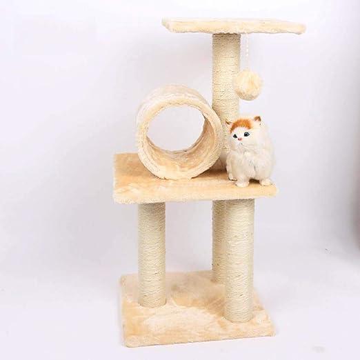 Axiba Árbol para Gatos,Árbol del Gato Marco Subir Gato camada Gato Nido Gato Subida Marco Gato Subida árbol del Animal doméstico Gato Subida 35 cm * 35cm * 70cm: Amazon.es: Productos para