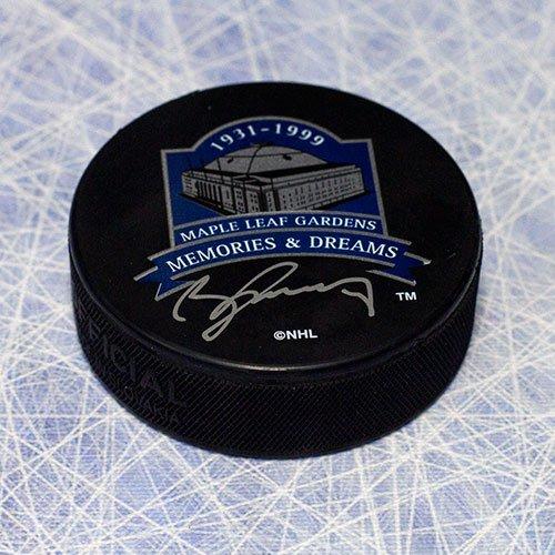 (AJ Sports World Borje Salming Toronto Maple Leaf Autographed MLG Memories & Dreams Hockey Puck)