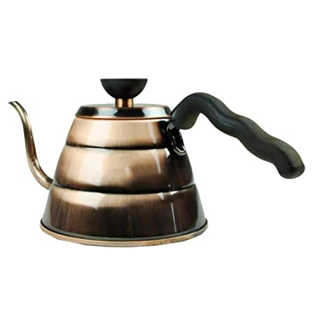 Cafetera Vone Olla de Mano de Acero Inoxidable Olla de café para ...
