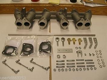 DATSUN  240Z 260  L24  L26  L28  INTAKE MANIFOLD TRIPLE WEBER 40  45 DCOE 8-0030