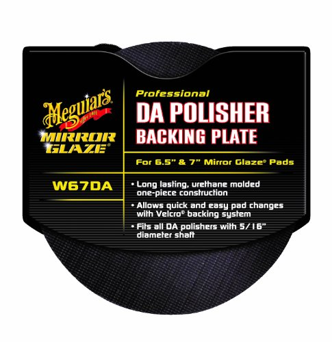 "Meguiar's W67DA Mirror Glaze Professional DA Polisher Backing Plate for 6.5"" & 7"" Mirror Glaze Pads"