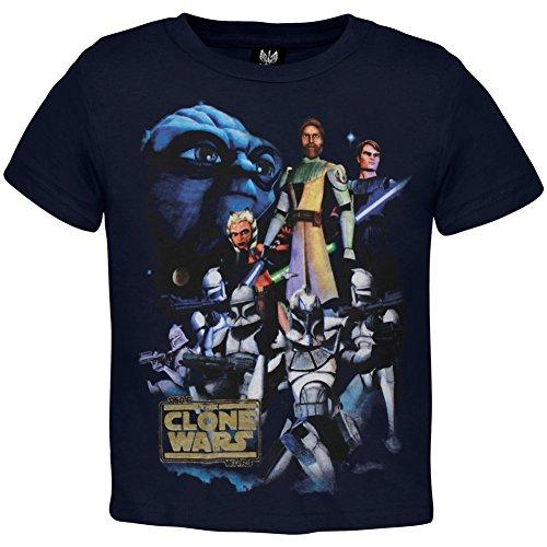 [Star Wars - Clone Wars Cast Juvy T-Shirt] (Cheap Star Wars Shirts)