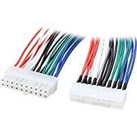 Nippon Labs POW-07209 9-Inches 20 Pin Male to Female AT x Power Extension Cable